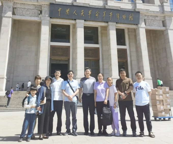 品源知识产权基层党支部赴中国人民革命军事博物馆开展主题党日活动
